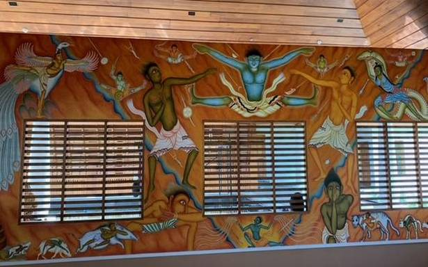 When walls speak a thousand words at the Centre for Performing Arts in Varkala