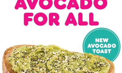 Dunkin' adds avocado toast, matcha-topped doughnut and blueberry matcha latte to its spring menu