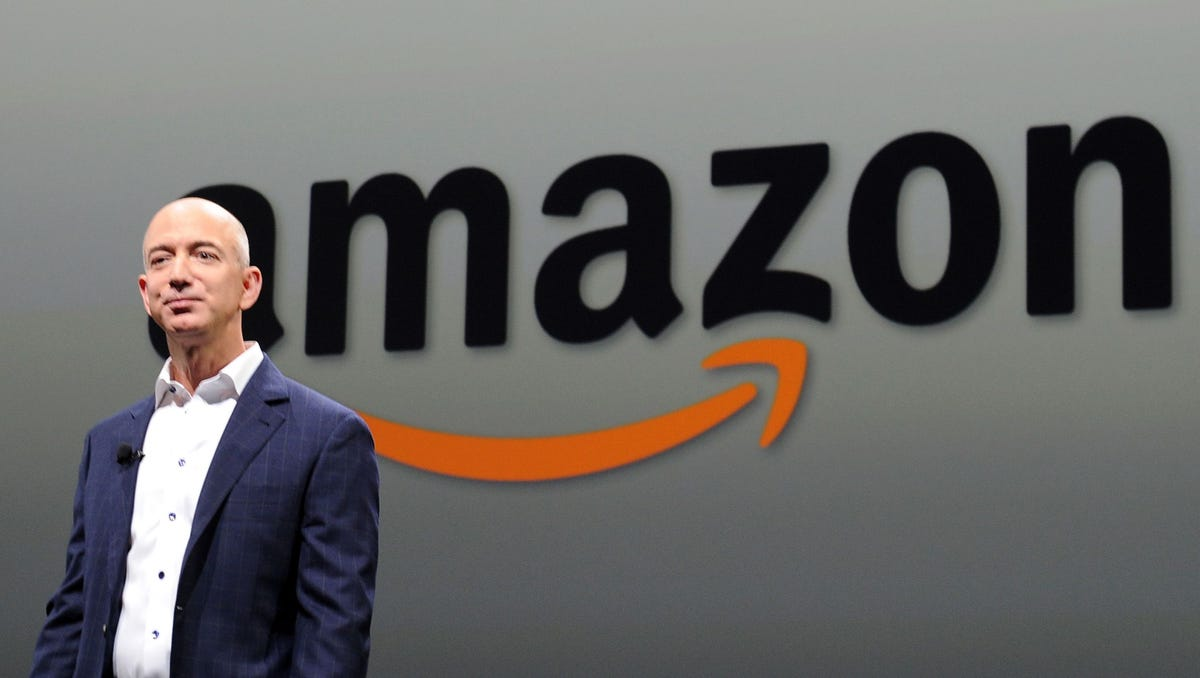 Amazon's Jeff Bezos to step down from CEO role and become executive chair; Andy Jassy named next CEO