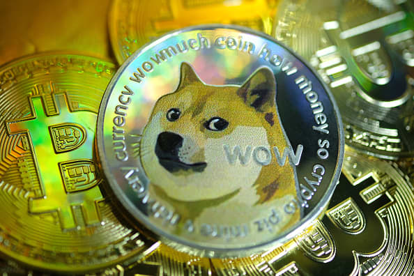 Tweets from Elon Musk and other celebrities send dogecoin to a record high