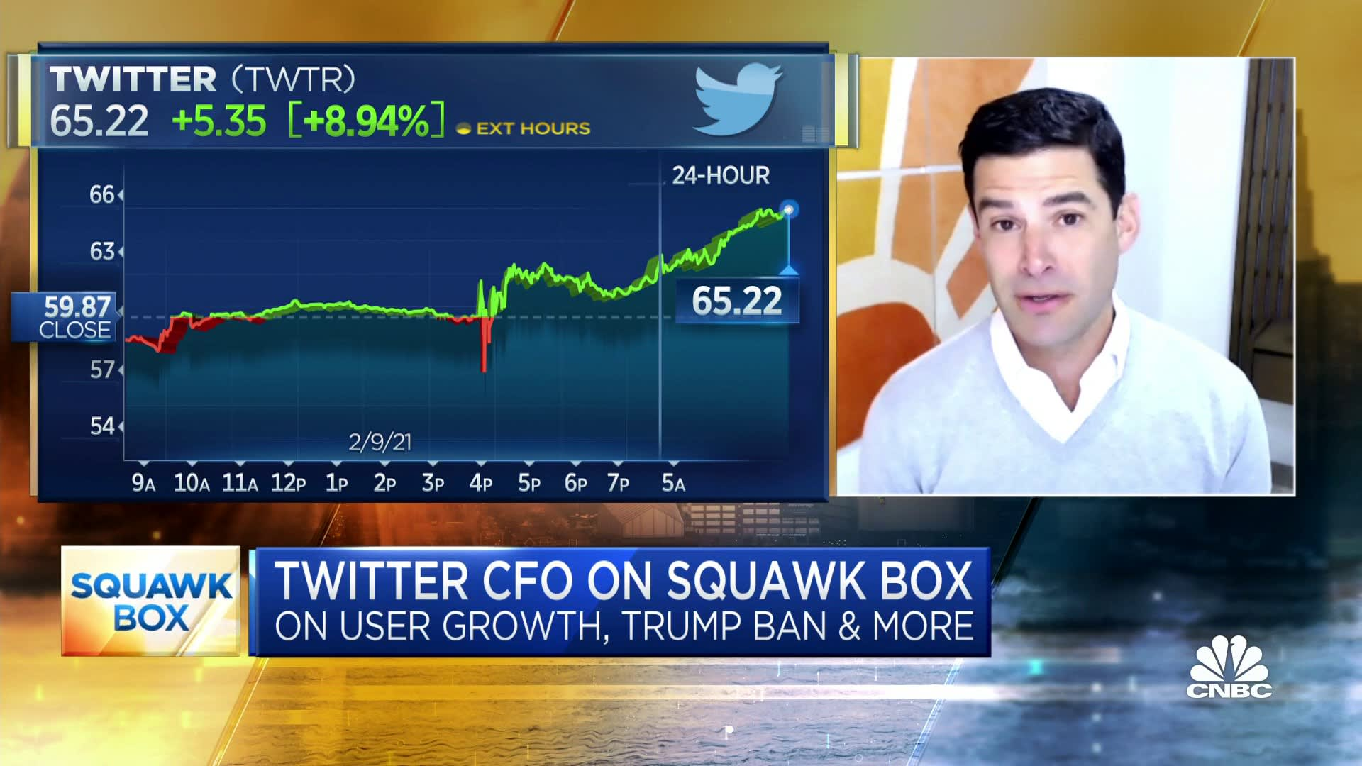 Twitter CFO on fourth-quarter earnings, how the pandemic is affecting user growth and more