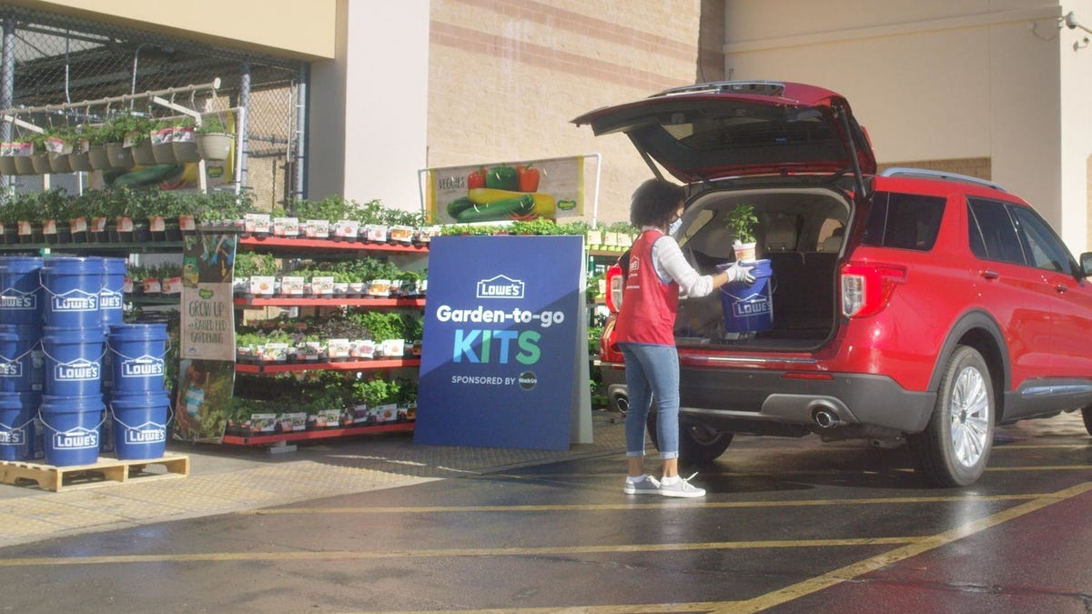 Lowe's plans 'SpringFest' event with free curbside 'Garden-to-Go' projects for families. How to sign up