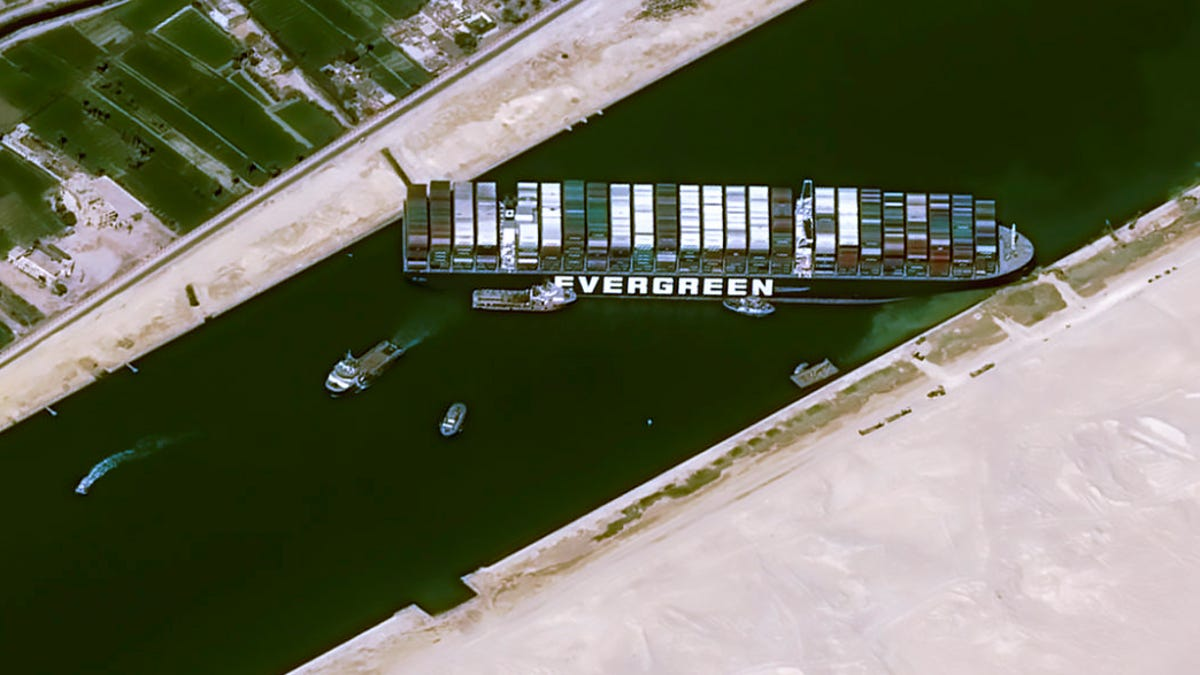 Suez Canal blockage could intensify shipping delays, lead to shortages of toilet paper, coffee and other consumer goods