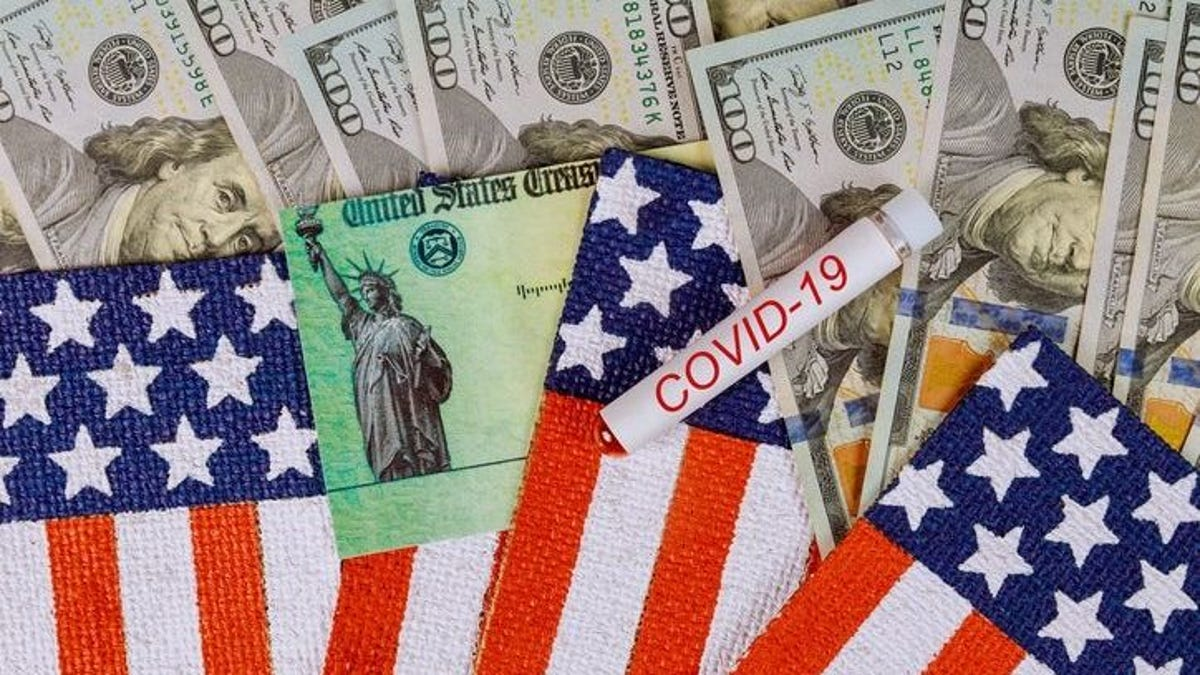 COVID-19 relief package: $1,400 stimulus checks, $300 bonus for federal unemployment benefits