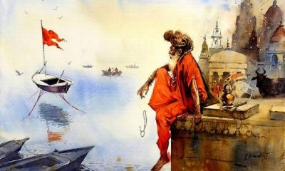 Watercolours by artist Hiremath hark back to a simpler time