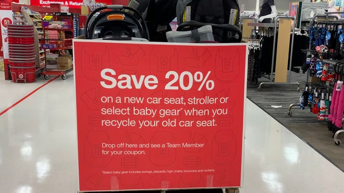 Target car seat trade-in event is back through April 17: Get a 20% discount for recycling old car seat