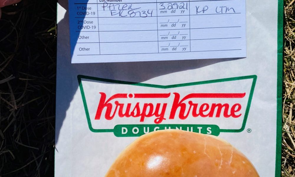 COVID-19 vaccine freebies such as gift cards, Krispy Kreme donuts: Are they a good or bad way to encourage shots?