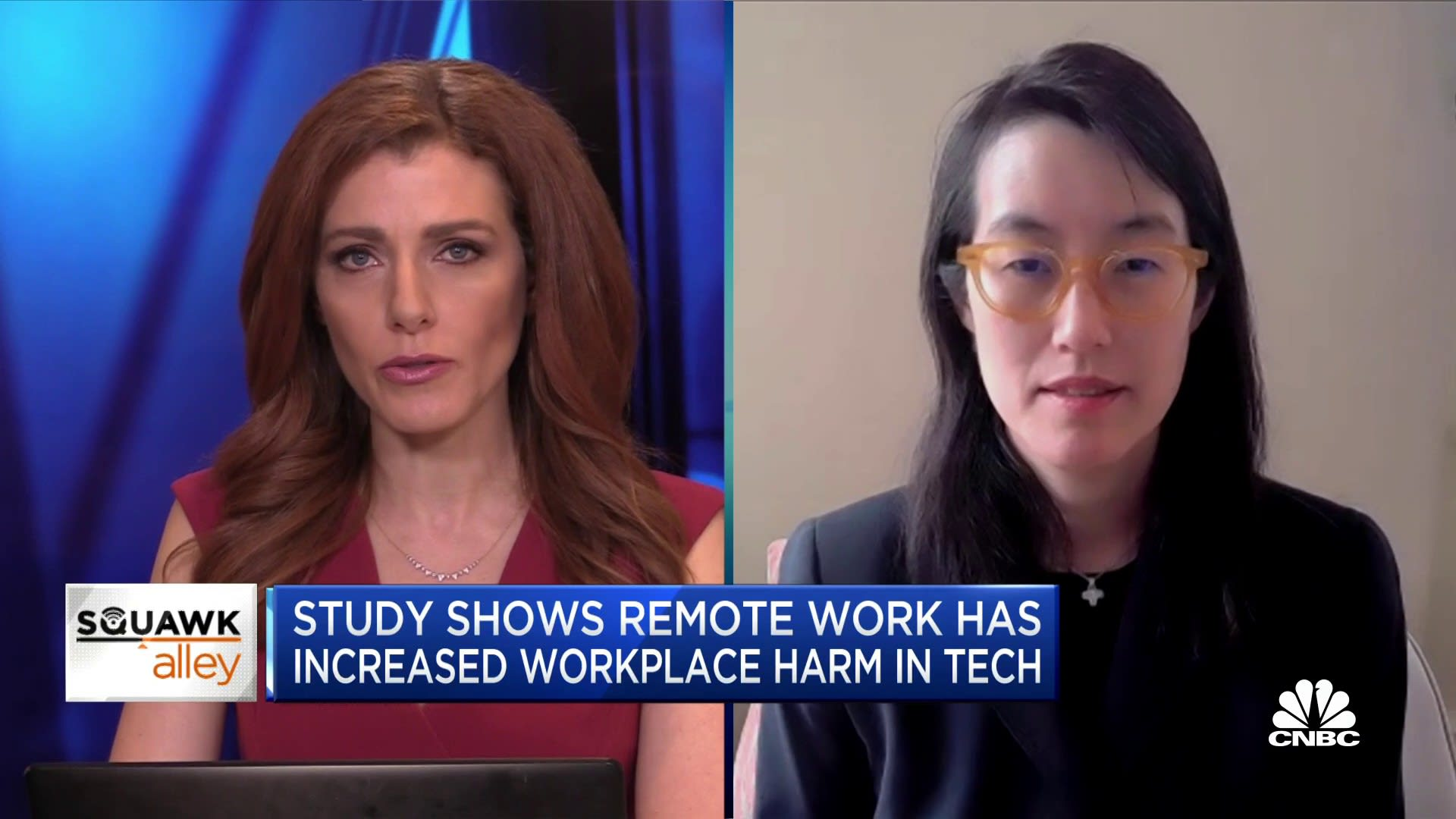 Former Reddit CEO Ellen Pao on remote work and harassment