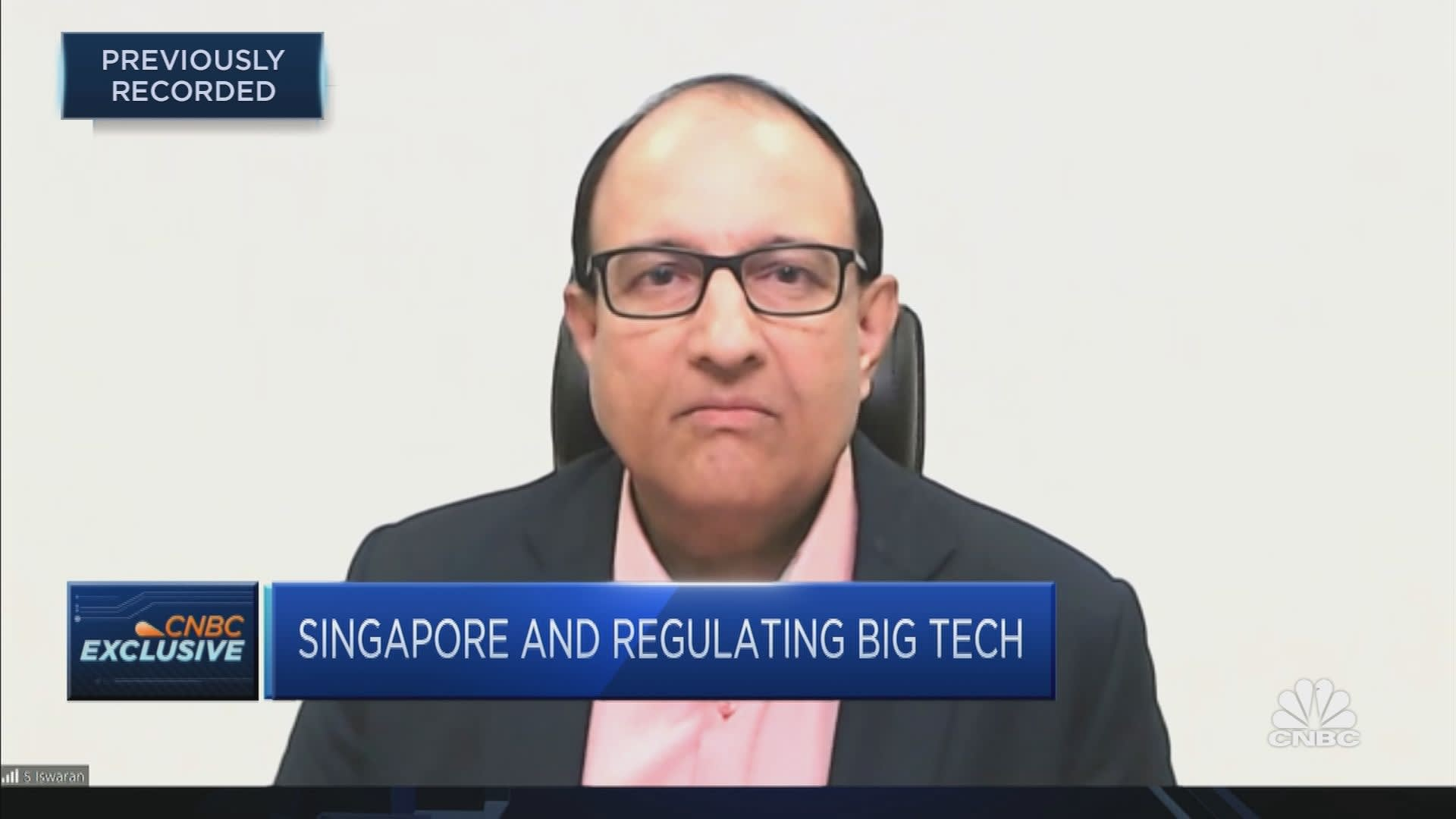 Singapore has a 'constructive relationship' with Big Tech, minister says