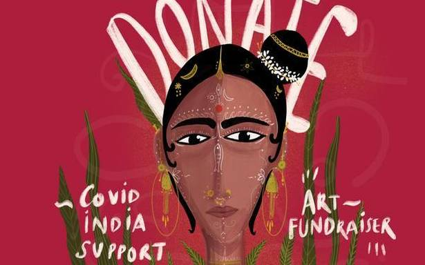 Decorating your walls with art could raise money for COVID-19 relief