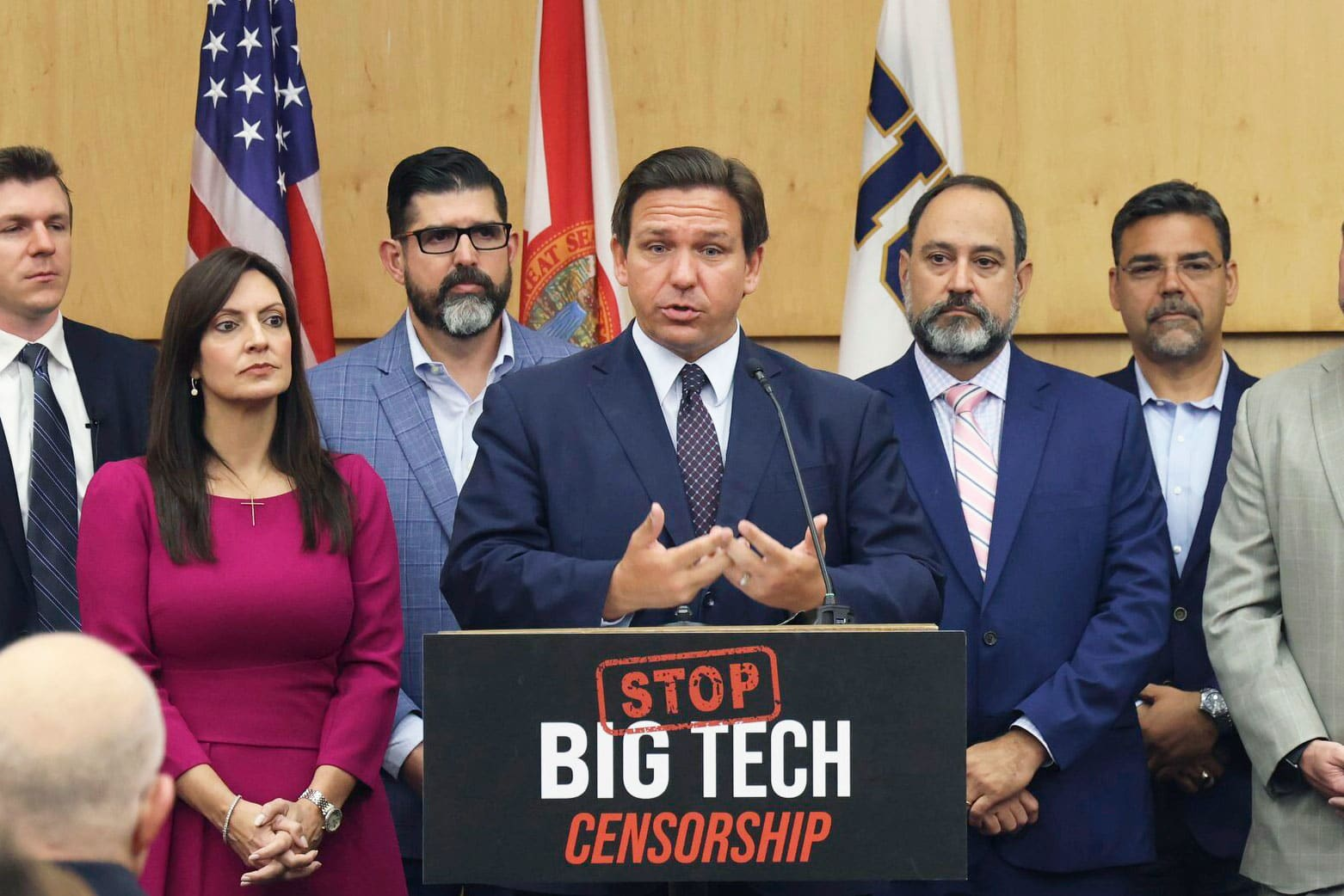 Florida governor signs ban on 'deplatforming' by tech companies