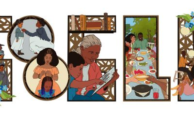 Google Doodle honors Black artistic contributions on Juneteenth