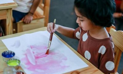 How art therapy can help kids through trauma