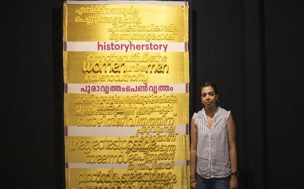 Lakshmi Madhavan's installation 'Hanging by a Thread' at Alappuzha blends art with life