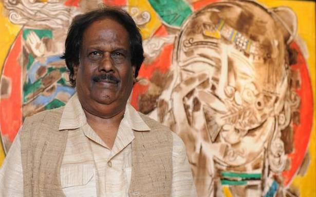 Veteran artist and former principal of Government College of Fine Arts, Chennai, Prof Alphonso Arul Doss passes away