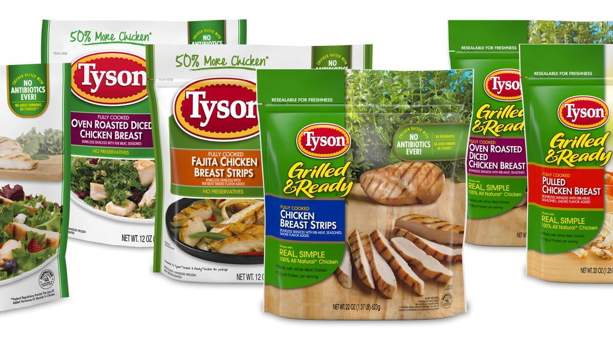 Walmart, Publix, Wegmans among stores that sold Tyson chicken products recalled for possible listeria risk