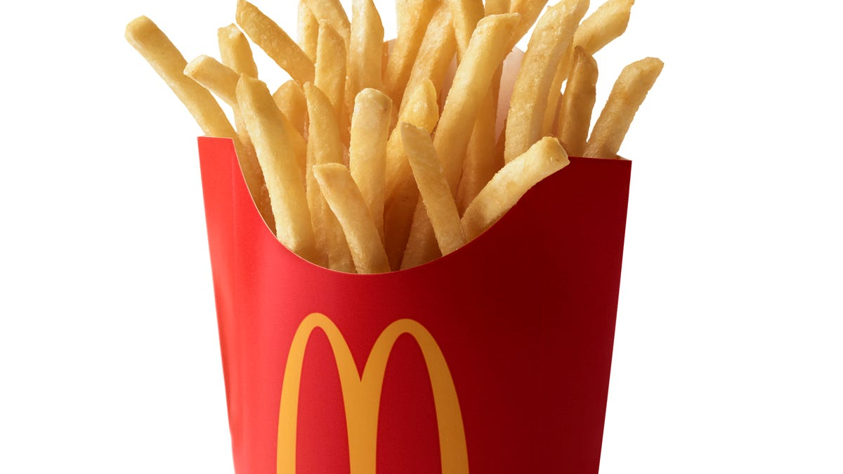 McDonald's giving away free fries for National Fry Day July 13 and has a free fries for life contest