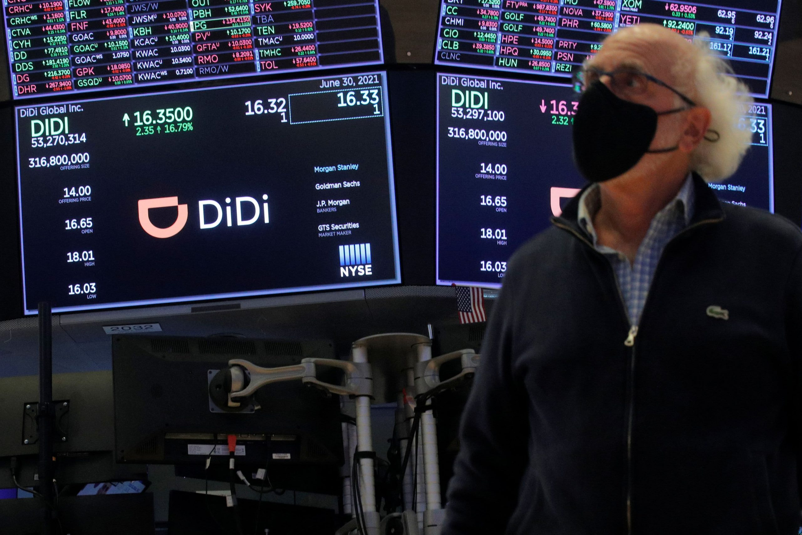 Didi denies it considered to go private after earlier report sends the stock soaring