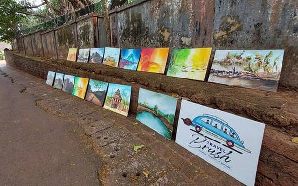 Four Kerala artists on an all-India trip to discover the country