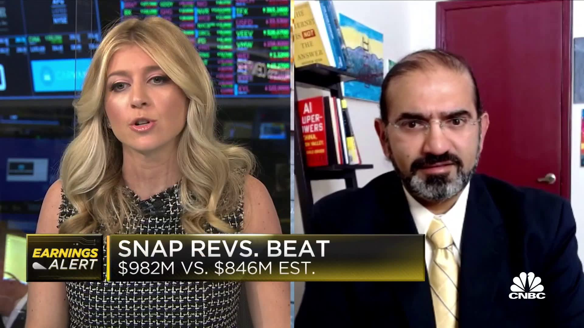 Snap grows users faster than expected in Q2
