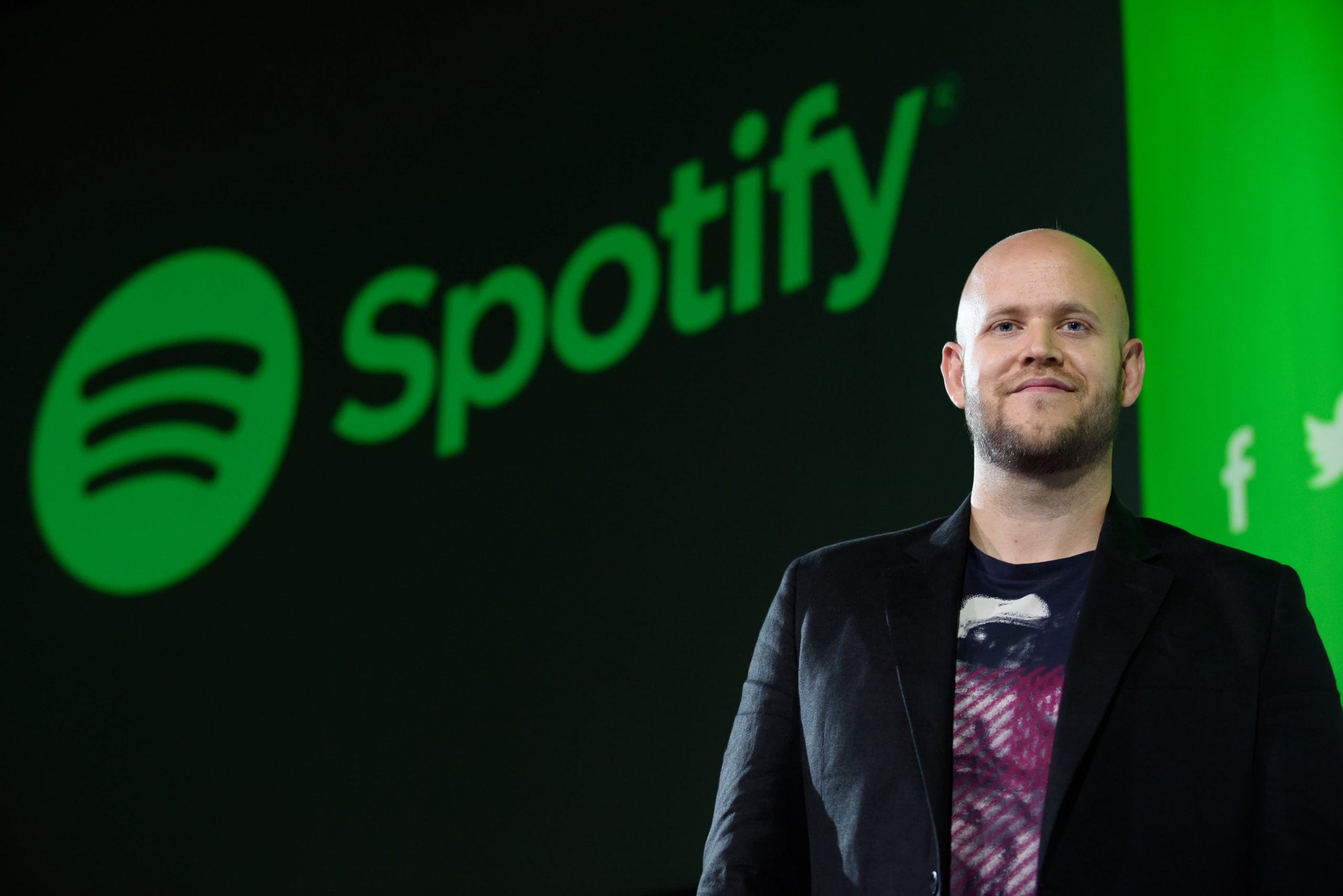 Spotify stock dips after reporting weak total monthly user growth