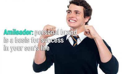Amileader will help create a personal brand for your son and bring him closer to success in adulthood